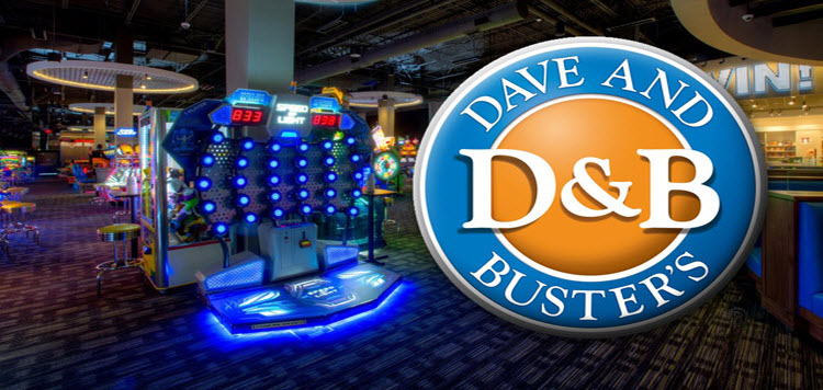 Dave And Buster S Old Town Scottsdale