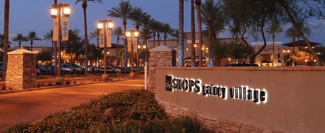 The Shops At Gainey Village Old Town Scottsdale