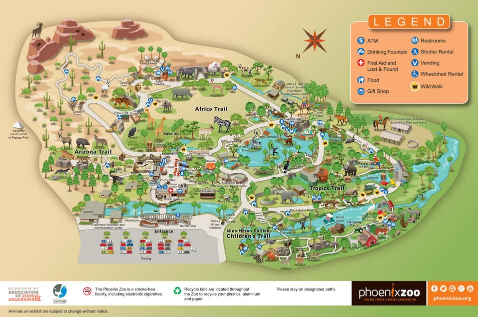 Phoenix Zoo Old Town Scottsdale