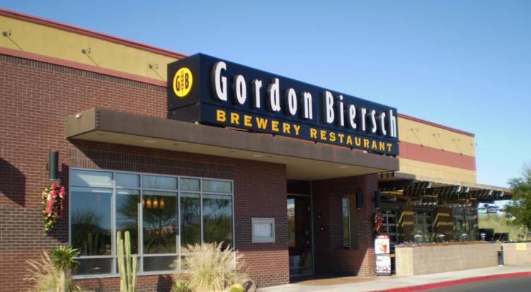 Gordon Biersch Old Town Scottsdale