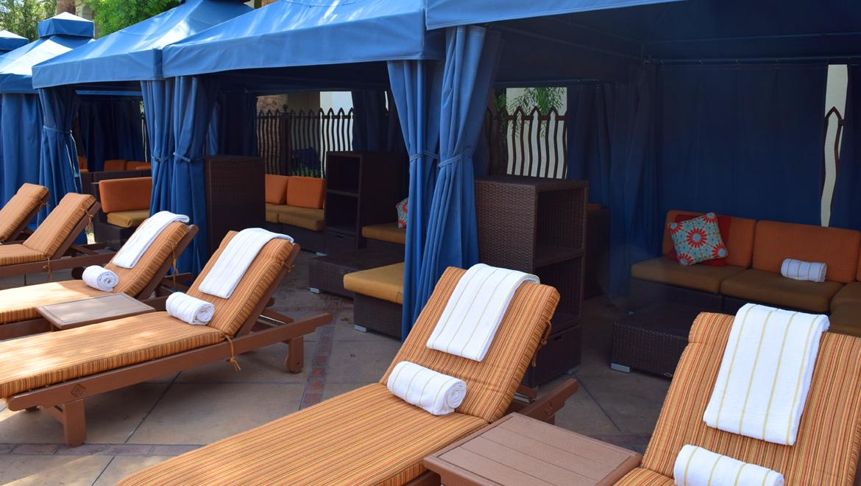 Omni Scottsdale Montelucia cabana