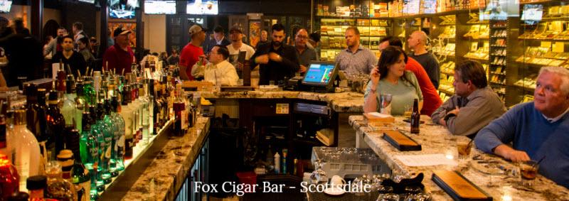 Fox Cigar Bar Scottsdale - Old Town Scottsdale