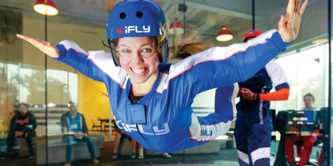 Ifly Indoor Skydiving Old Town Scottsdale