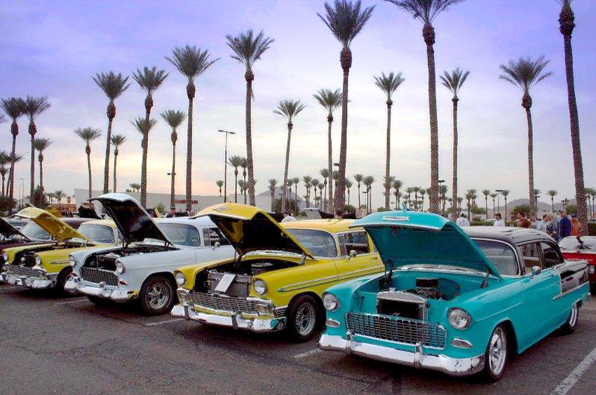 The Largest Consistently Run Car Show In The United States Old - Scottsdale car show today
