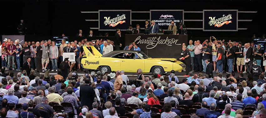 Barrett Jackson Auction 2017 >> Barrett Jackson Collector Car Auction January Uptown