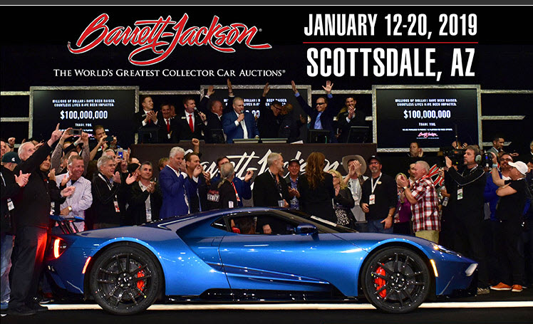 The Barrett Jackson Auction Company Has Been Recognized Throughout World For Offering Only Finest Selection Of Quality Collector Vehicles
