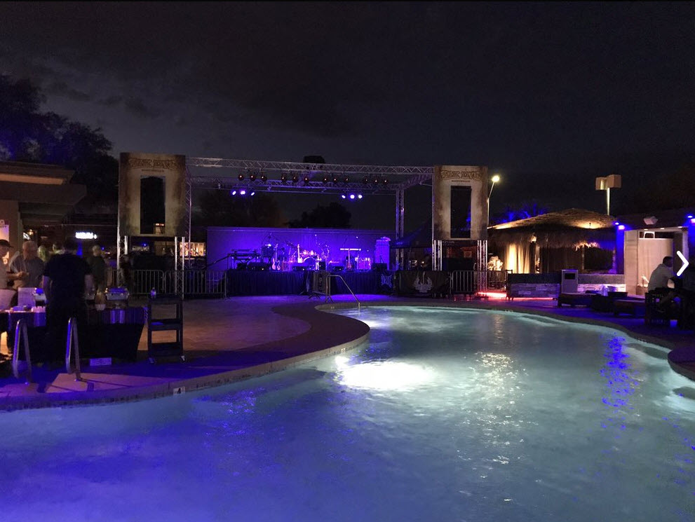 Pool at BLK Live in Scottsdale